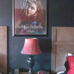 Twilight poster in Twilight theme room